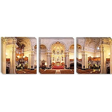 iCanvas Panoramic 'Berlin Cathedral, Berlin, Germany' Photographic Print on Canvas