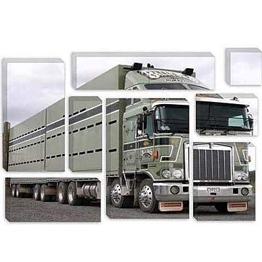 iCanvas Cars and Motorcycles Kenworth K100 Truck Photographic Print on Canvas