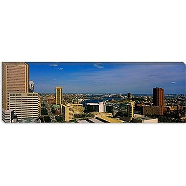 iCanvas Panoramic Skyscrapers in a City, Baltimore, Maryland Photographic Print on Canvas