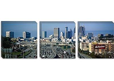 iCanvas Panoramic Traffic on a Highway, Atlanta, Georgia Photographic Print on Canvas