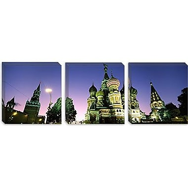 iCanvas Panoramic St. Basil's Cathedral, Moscow, Russia Photographic Print on Canvas