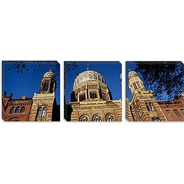 iCanvas Panoramic Berlin, Germany Photographic Print on Canvas; 30'' H x 90'' W x 1.5'' D