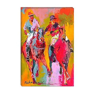 iCanvas '''Polo'' by Richard Wallich Painting Print on Canvas; 18'' H x 12'' W x 0.75'' D