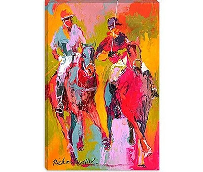 iCanvas '''Polo'' by Richard Wallich Painting Print on Canvas; 60'' H x 40'' W x 1.5'' D