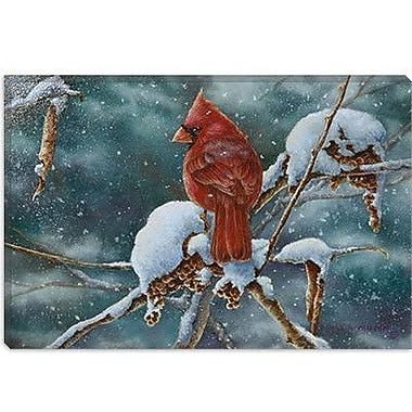 iCanvas 'December Delight' by Wanda Mumm Painting Print on Canvas; 26'' H x 40'' W x 0.75'' D
