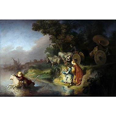 iCanvas 'The Abduction of Europa' by Rembrandt Painting Print on Wrapped Canvas