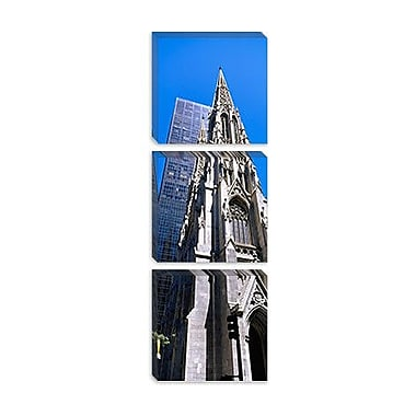 iCanvas Panoramic St. Patrick's Cathedral, New York City Photographic Print on Canvas