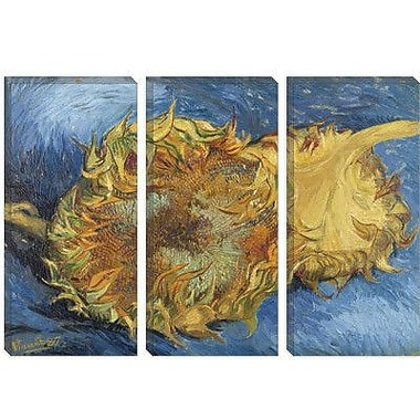iCanvas Sunflowers 1887 Canvas Print Wall Art; 26'' H x 40'' W x 0.75'' D