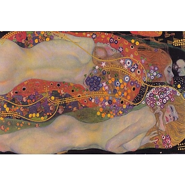 iCanvas 'Water Serpents II 1907' by Gustav Klimt Painting Print on Wrapped Canvas