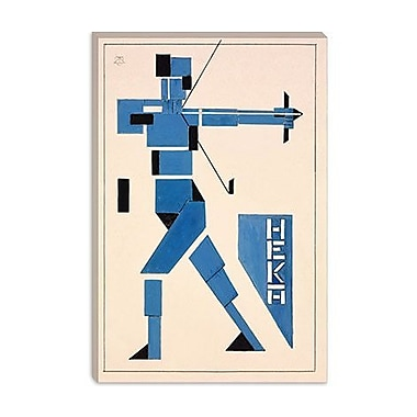 iCanvas 'Archer' by Theo van Doesburg Graphic Art on Canvas; 26'' H x 18'' W x 1.5'' D