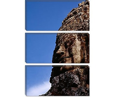 iCanvas Panoramic Angkor Wat, Cambodia Photographic Print on Canvas; 18'' H x 12'' W x 0.75'' D