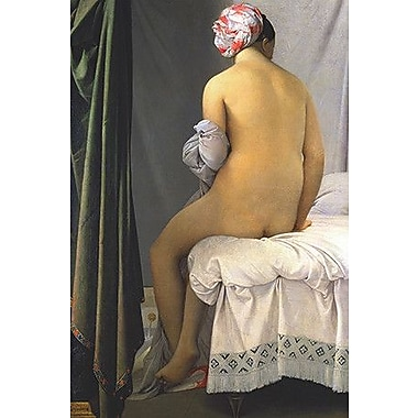 iCanvas The Bather of Valpincon by Jean Auguste Ingres Painting Print on Wrapped Canvas
