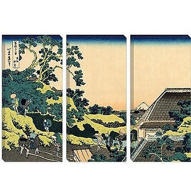 iCanvas 'Sundai Edo' by Katsushika Hokusai Painting Print on Canvas; 26'' H x 40'' W x 0.75'' D