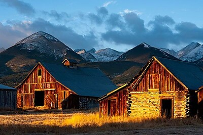 iCanvas ''Wet Mountain Valley Sunrise'' by Dan Ballard Photographic Print on Wrapped Canvas