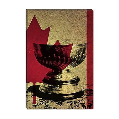 iCanvas Canada Hockey, Stanley Cup Graphic Art on Canvas; 12'' H x 8'' W x 0.75'' D