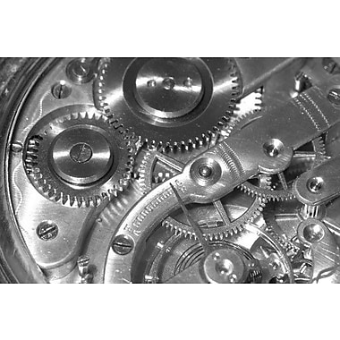 iCanvas Watch Mechanism Photographic Print on Wrapped Canvas; 18'' H x 26'' W x 1.5'' D
