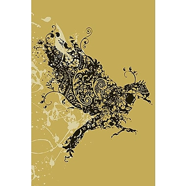 iCanvas 'Tattooed Bird' by Budi Satria Kwan Graphic Art on Wrapped Canvas; 12'' H x 8'' W x 0.75'' D