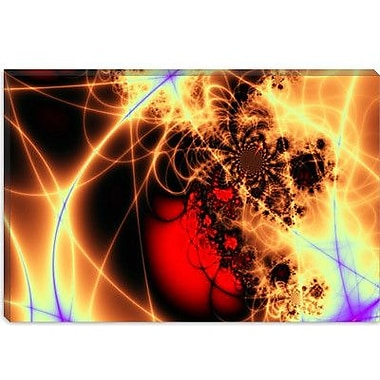 iCanvas Digital Beating Heart Graphic Art on Canvas; 12'' H x 18'' W x 0.75'' D