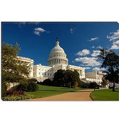 iCanvas Political Capitol Building Photographic Print on Canvas; 12'' H x 18'' W x 0.75'' D