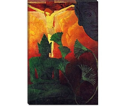 iCanvas 'Christ and Buddha' by Paul Ranson Painting Print on Canvas; 40'' H x 26'' W x 0.75'' D