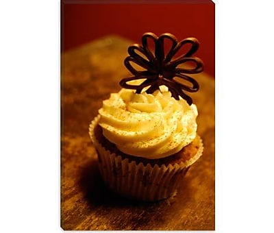 iCanvas Food and Cuisine Chocolate Cupcake Photographic Print on Canvas; 60'' H x 40'' W x 1.5'' D