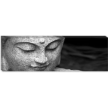 iCanvas Chinese Buddha (Panoramic) Photographic Print on Canvas; 12'' H x 36'' W x 0.75'' D