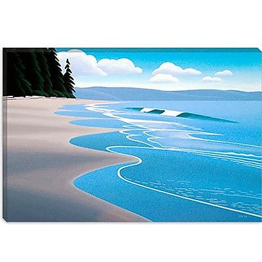 iCanvas ''Summer Sand'' by Ron Parker Painting Print on Wrapped Canvas; 18'' H x 26'' W x 0.75'' D