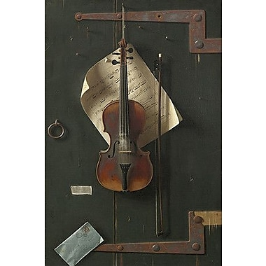 iCanvas 'The Old Violin' by William Michael Harnett Photographic Print on Wrapped Canvas