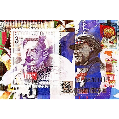iCanvas 'Soviet Times' by Luz Graphics Graphic Art on Wrapped Canvas; 18'' H x 26'' W x 1.5'' D