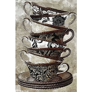 iCanvas Color Bakery ''Tea I'' Painting Print on Wrapped Canvas; 26'' H x 18'' W x 0.75'' D