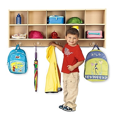 Young Time 10 Compartment Cubby; Assembled