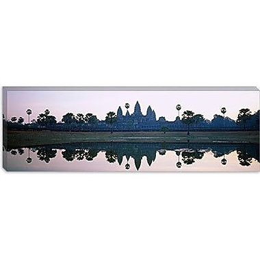 iCanvas Panoramic Angkor Wat, Cambodia Photographic Print on Canvas; 16'' H x 48'' W x 0.75'' D