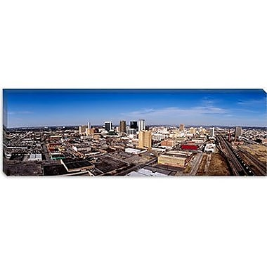 iCanvas Panoramic Aerial View of a City, Birmingham, Alabama Photographic Print on Canvas