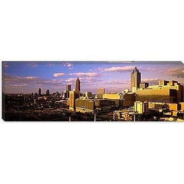 iCanvas Panoramic Afternoon in Atlanta, Atlanta, Georgia Photographic Print on Canvas