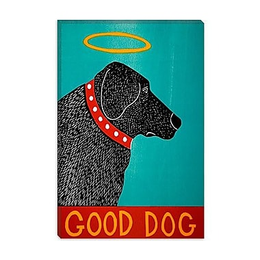 iCanvas Good Dog by Stephen Huneck Graphic Art on Canvas; 18'' H x 12'' W x 0.75'' D