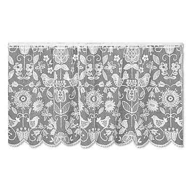 Heritage Lace Rhapsody Tier Curtain; 30'' H x 60'' W