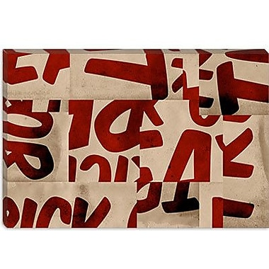 iCanvas Modern Without Struggle Textual Art on Canvas; 26'' H x 40'' W x 1.5'' D