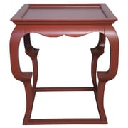 Muse Cassio Tray Table; Rave Red