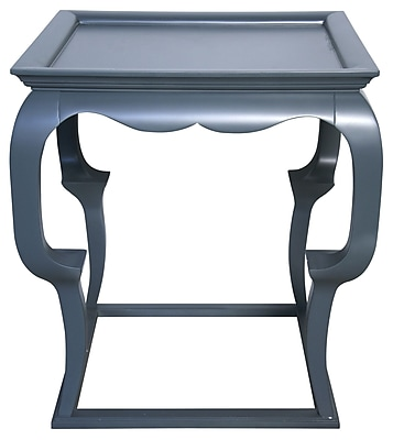 Muse Cassio Tray Table; Mink Grey