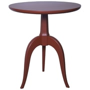 Muse Corin End Table; Rave Red