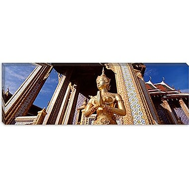 iCanvas Panoramic Wat Phra Kaeo, Grand Palace, Bangkok, Thailand Photographic Print on Canvas