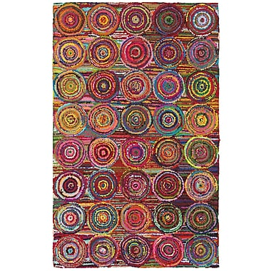 LR Resources Layla Multi Area Rug; Rectangle 3'6'' x 5'6''