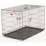 Jewett Cameron Lucky Dog 2 Door Training Crate; 33'' H x 30'' W x 48'' D