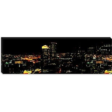 iCanvas Panoramic Boston, Suffolk County, Massachusetts Photographic Print on Canvas