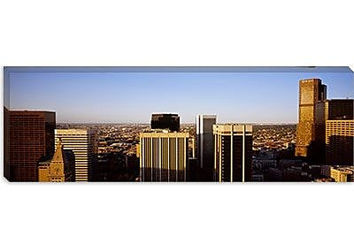 iCanvas Panoramic Skyscrapers in a City, Denver, Colorado Photographic Print on Canvas