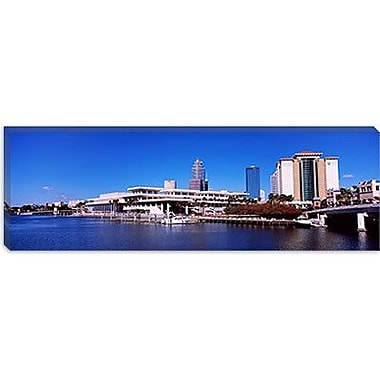 iCanvas Panoramic Skyscrapers at the Waterfront, Tampa, Florida Photographic Print on Canvas