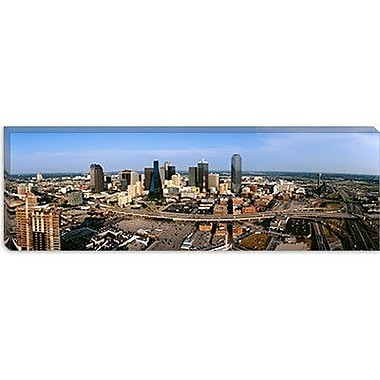 iCanvas Panoramic Aerial View of a City, Dallas, Texas Photographic Print on Canvas