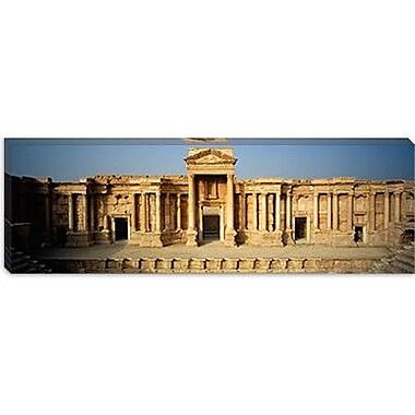 iCanvas Panoramic Building, Palmyra, Syria Photographic Print on Canvas; 12'' H x 36'' W x 0.75'' D