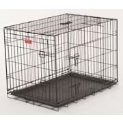 Jewett Cameron Lucky Dog 2 Door Training Crate; 24'' H x 21'' W x 30'' D