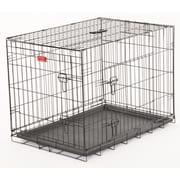 Jewett Cameron Lucky Dog 2 Door Training Crate; 27'' H x 24'' W x 36'' D